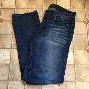 Men's joes jeans washed/distressed 34 X 33